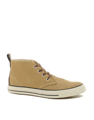 Shoes, Canvas Shoes - Converse All Star - Suede Boots - Brown