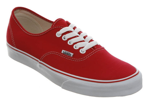 Shoes, Canvas Shoes - VANS Authentic Sneakers - Red