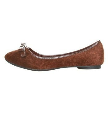Shoes - Ladies - Ballet Flats (Horse Hair) - Ana Lublin