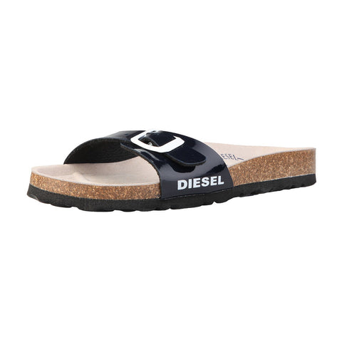 Shoes - Ladies - DIESEL PVC Slippers - Marine Blue