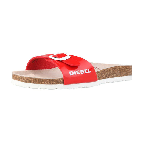 Shoes - Ladies - DIESEL PVC Slippers - Red