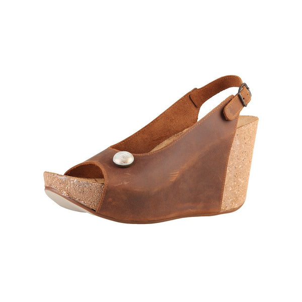 Shoes - Ladies - DIESEL Wedge Wholecut Sandal