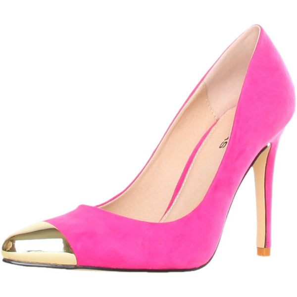 Shoes - Ladies - GAS AVALANCHE Suede High Heel Shoes - Fushia