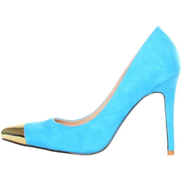 Shoes - Ladies - GAS AVALANCHE Suede High Heel Shoes - Turquios