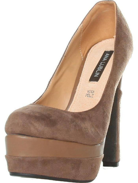 Shoes - Ladies - Heels - Ana Lublin - Khaki