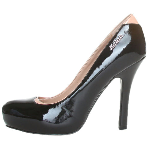 Shoes - Ladies - KILLAH 2 Colour Leather Court Shoe