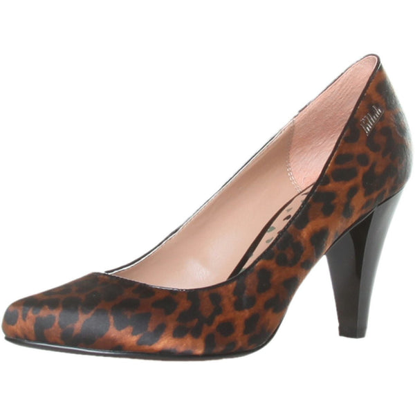 Shoes - Ladies - KILLAH COURT SHOES - Leopard Brown