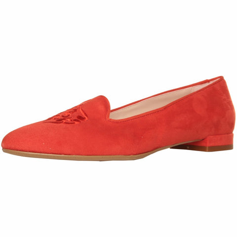 Shoes - Ladies - MADE IN ITALIA PATTERNED LOAFERS  - Coral Suede