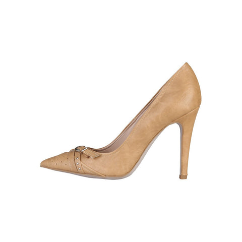 Shoes - Ladies - PRIMADONNA Heeled Pumps - Cream