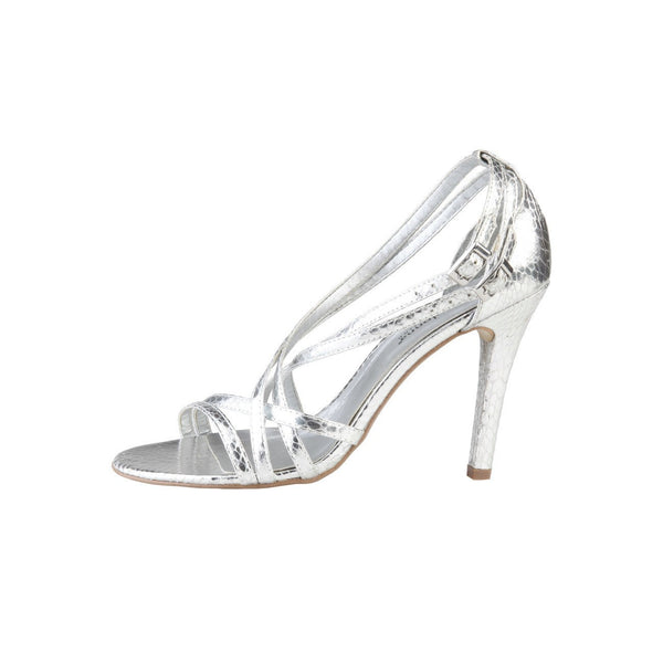 Shoes - Ladies - PRIMADONNA Heeled Sandal - Silver