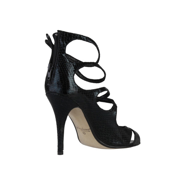 Shoes - Ladies - PRIMADONNA Heeled Strappy Sandal - Black