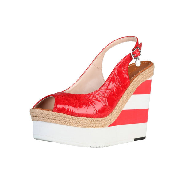 Shoes - Ladies - PRIMADONNA Shiny Wedge - Cream