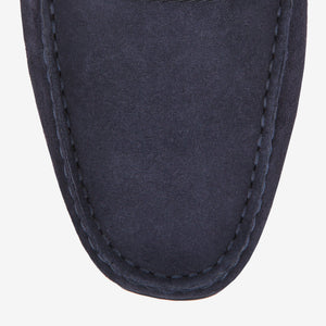 BALLY PEARCE - MEN'S SUEDE DRIVER - BLACK - Ninostyle