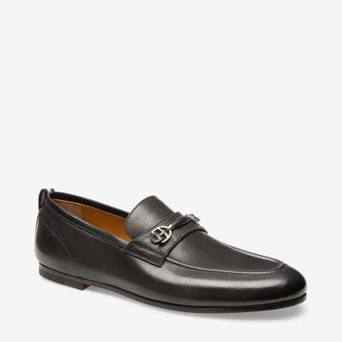 Shoes Men - BALLY PLINTOR - CALF LEATHER HORSEBIT LOAFER - BLACK