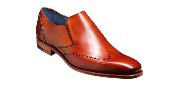 Shoes Men - Barker Bourne Slip-on - Rosewood Calf