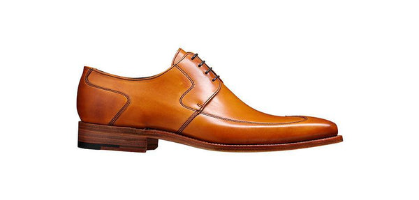 Shoes Men - Barker Herbert Derby Wingtip - Cedar Calf