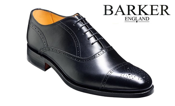 Shoes Men - Barker Newcatle - Black (Extra Large Size)