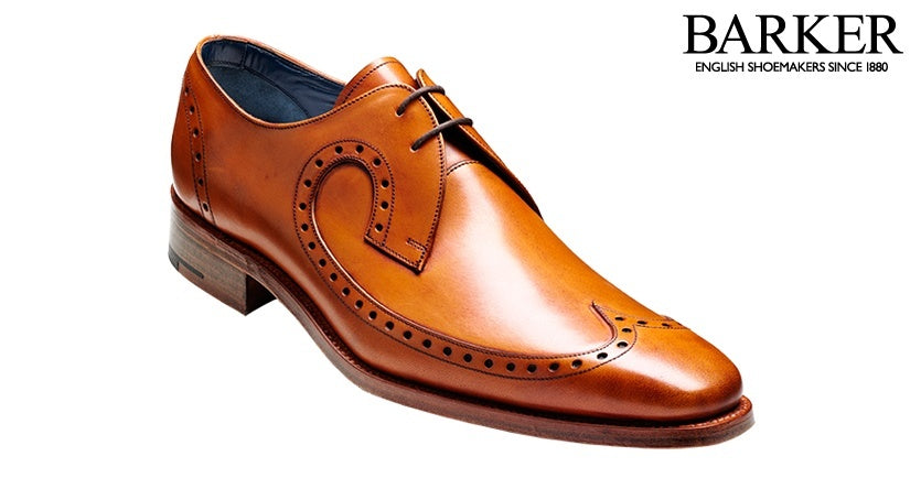 Barker Woody Derby Lace-up - Cedar Calf - Ninostyle