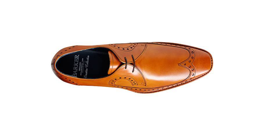 66b98badce5b2 ... Shoes Men - Barker Woody Derby Lace-up - Cedar Calf ...