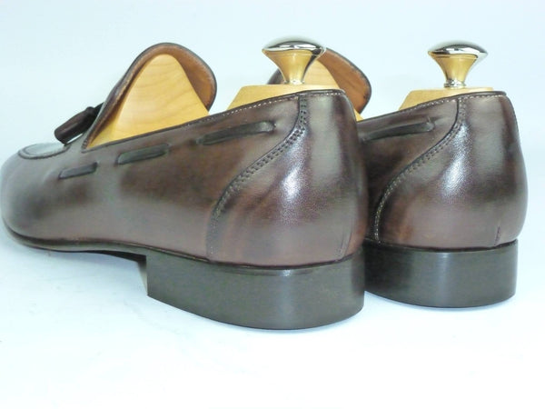 Shoes Men - Italian Moro Vitello Tassled  Shoe - Maurizio Bellini