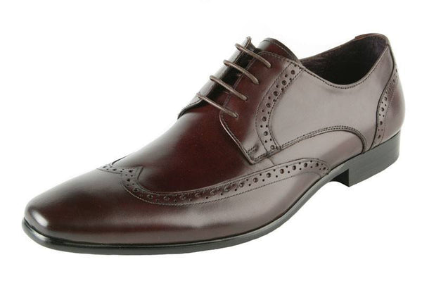 Shoes Men - JOHN WHITE - Walker Brown Calf Leather Brogue