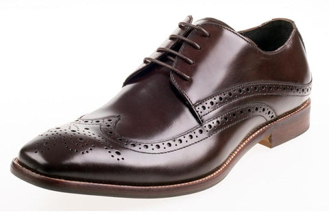 Shoes Men - JOHN WHITE - Whitehall Hi-Shine Brown Leather