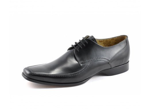 LOAKE  1369B Polished Brogue - Black - Ninostyle