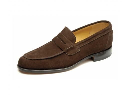 Shoes Men - LOAKE 256DS Loafers Shoe - Brown Suede