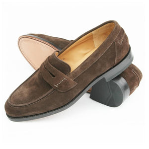 LOAKE 256DS Loafers shoe - Brown Suede - Ninostyle