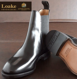 LOAKE  290 Polished Chelsea Boots - Black - SOLE