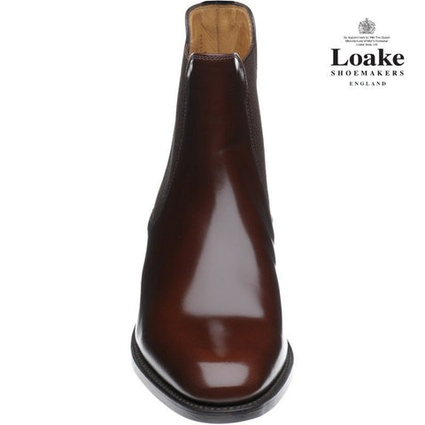 Shoes Men - LOAKE  290 Polished Chelsea Boots - Brown