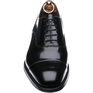 LOAKE 806B Oxford shoe - Black Polished - Top View