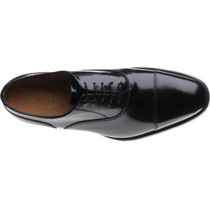 LOAKE 806B Oxford shoe - Black Polished - Inside View