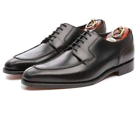 Shoes Men - LOAKE - AVON Premium Apron Tie Shoe - Black