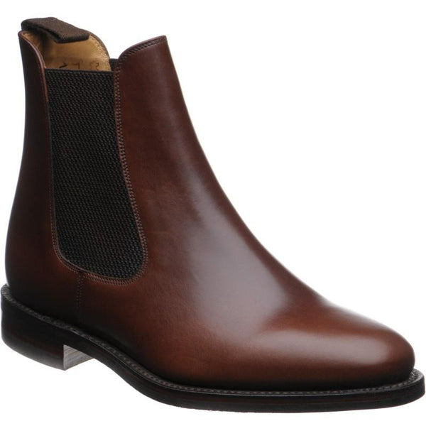 Shoes Men - LOAKE Blenheim Stylish Chelsea Boots - Brown Waxy