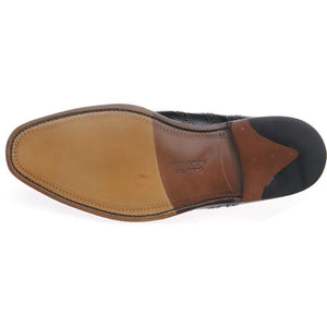 LOAKE Buckingham Black shoe - Black - Sole