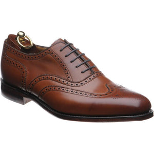 LOAKE Buckingham Brown shoe - Brown - Angle View