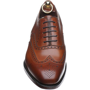 LOAKE Buckingham Brown shoe - Brown - Front View