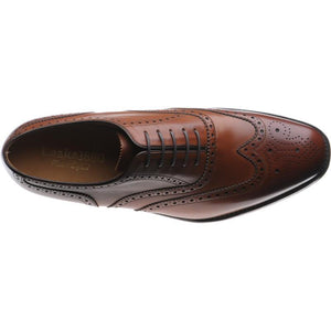 LOAKE Buckingham Brown shoe - Brown - Top View/ Inside View