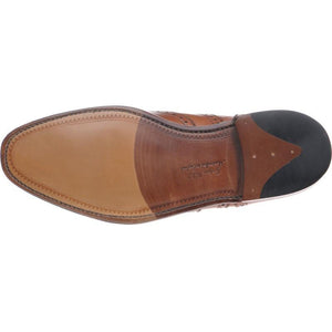 LOAKE Buckingham Brown shoe - Brown - Sole