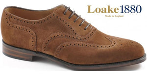 LOAKE Buckingham Polo Suede - Angle View
