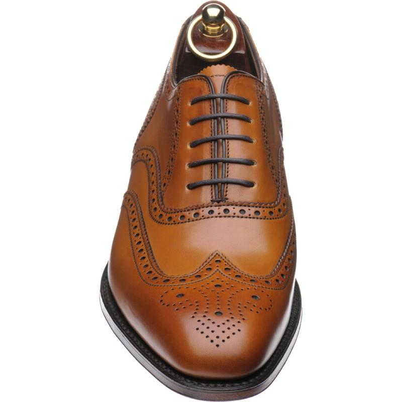 LOAKE Buckingham Tan shoe - Tan - Angle View