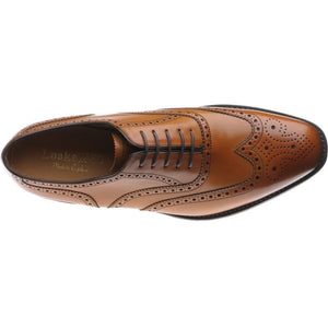 LOAKE Buckingham Tan shoe - Tan - Top View