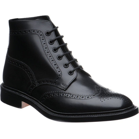 Shoes Men - LOAKE Buford - Premium  Boot - Black