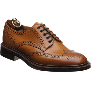 LOAKE Chester Brogue shoe Dainite - Tan - Ni