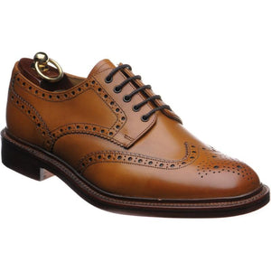 LOAKE Chester Oxford Brogue Shoe - Angle View