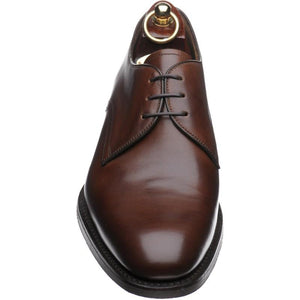 LOAKE Gable Plain Tie shoe - Brown calf - Front View