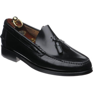 LOAKE Georgetown Tassled Mocassin Loafers - Black - Ninostyle