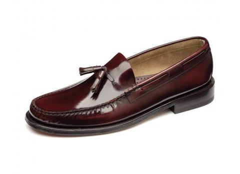 Shoes Men - LOAKE Georgetown Tassled Mocassin Loafers - Burgundy