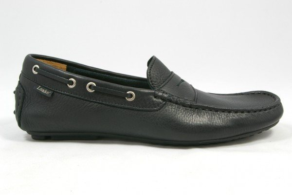 Shoes Men - LOAKE  Healey - Leather Driving Shoes - Black